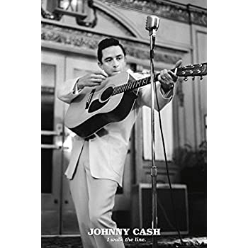 johnny cash elvis presley poster rock n 39 roll legends the man in black the. Black Bedroom Furniture Sets. Home Design Ideas