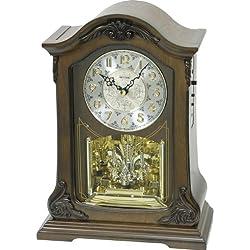 Rhythm CRH209UR06 Musical Motion Clock, Wood
