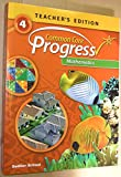 Common Core Progress Mathematics- Grade 4 Teacher's Edition Paperback – 2014