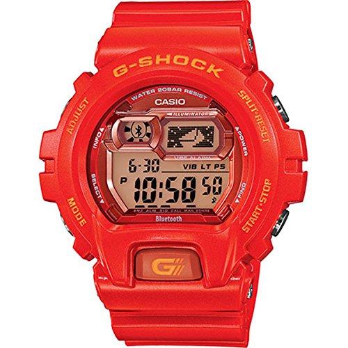 Casio G-Shock GBX-6900 Bluetooth Edition Men's Stylish Watch - Jelly Orange / One Size