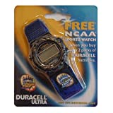 ncaa 2000 - NCAA 2000 Final Four Indianapolis Collectors Watch with Duracell Ultra