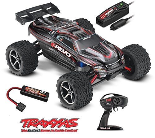 Traxxas 1 16 E-Revo Brushed 2.4GHz Vehicle - Colors May Vary