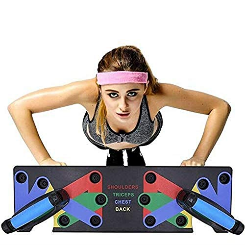 Healthex Complete Push Up Training System Color-Coded Push-up Bracket Board Portable for Home Fitness Training Price & Reviews