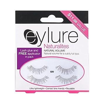 5a895b54e83 Eylure Naturalites Natural Volume Eyelash Multi Pack-020, 2 Count by Eylure:  Amazon.co.uk: Beauty