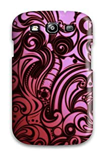 Special Design Back Abstract Red Phone Case Cover For Galaxy S3