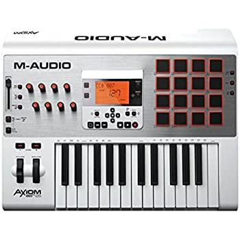 m audio axiom air 25 25 key usb midi keyboard controller with ableton live lite and. Black Bedroom Furniture Sets. Home Design Ideas