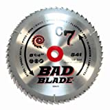 KwikTool USA BB825 C7 Bad Blade 8-1/4-Inch 54 Tooth With 5/8-Inch Arbor