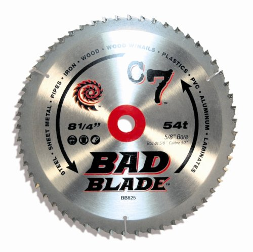 KwikTool USA BB825 C7 Bad Blade 8-1/4-Inch 54 Tooth With 5/8-Inch Arbor by Kwik Tool