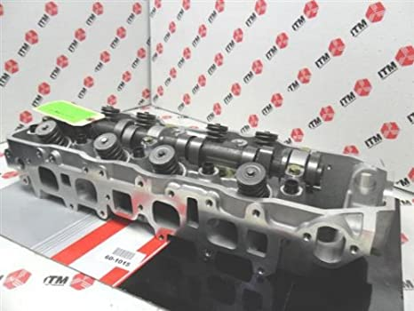 22R 22RE cylinder head complete w/valves and camshaft 60-1015