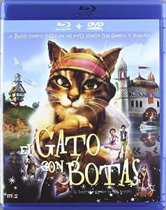 Gato con botas (Combo DVD + BR) [Blu-ray]