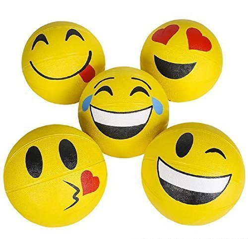 Rhode Island Novelty 9.5'' Emoticon Basketballs by Rhode Island Novelty