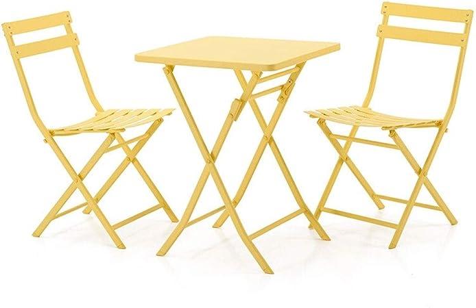 Table Cour Cour Petite Et Chaise Table LEQI pliable Balcon c3TlF1KJ
