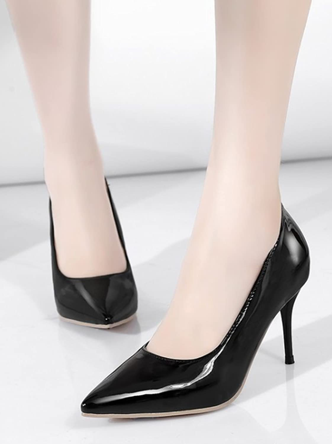 Aisun Women's Sexy Pointy Toe High Stiletto Heels Court Shoes:  Amazon.co.uk: Shoes & Bags