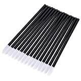 500 Pack Lipstick Applicators Disposable Lip Brushes Makeup Brush Lipstick Gloss Wands Applicator, Black