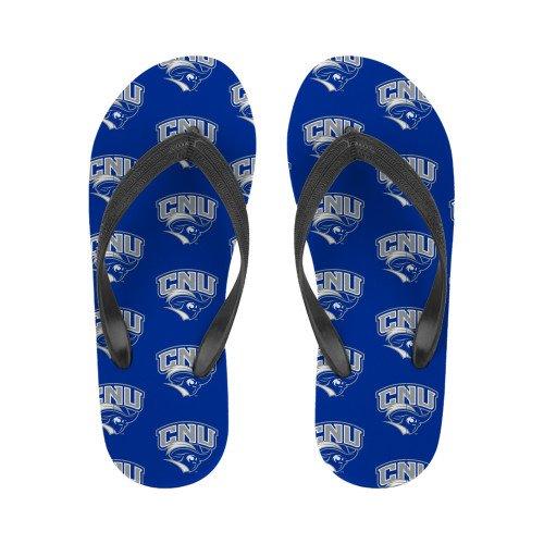 Christopher Newport Damer Fyrfärg Flip Flops Officiella Logotypen