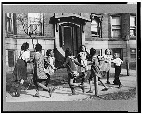 1941 Photo Children playing