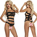 Best Fasicat Babydolls - Zegocaca Women Sexy Lingerie Strappy Mesh Babydoll backless Review