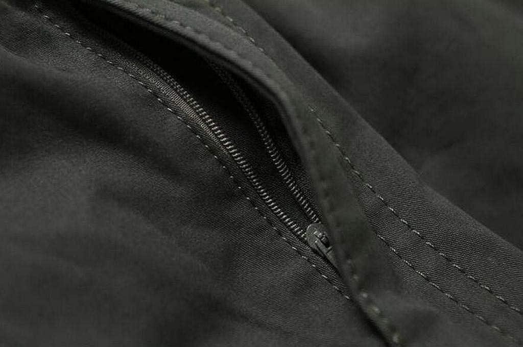 Jofemuho Mens Elastic Waist Loose Casual Plus Size Multi Pockets Cargo Pants