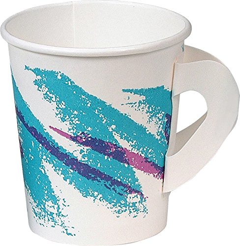 Solo 376HJZ-00055 Single-Sided Poly Paper Hot Cup, 6 oz. ...