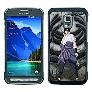 High Quality Samsung Galaxy S5 Active Skin Case ,sasuke shippuden 3 Black Samsung Galaxy S5 Active Screen Cover Case Popular And Unique Custom Designed Phone Case