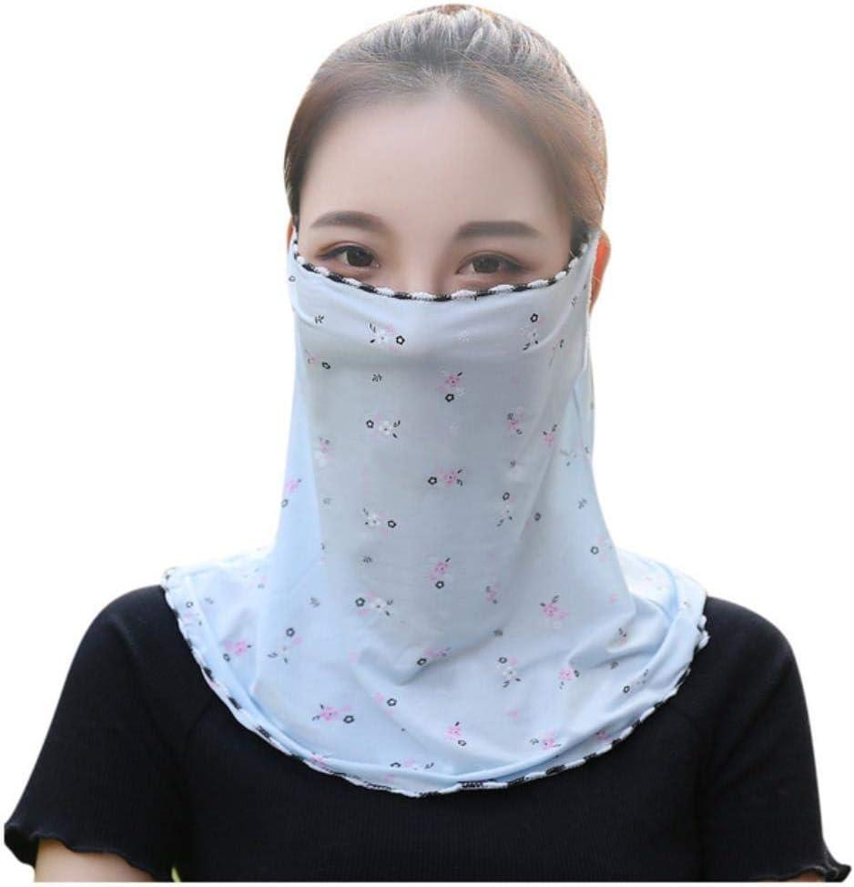 WXCL Turbante Headwear Mascarilla de algodón Reutilizable a Prueba de Polvo Mascarilla Mascarilla para Hombres y Mujeres Protección de Bufanda, Azul, China