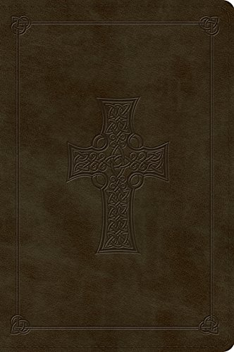 ESV Large Print Bible (TruTone, Olive, Celtic Cross Design) (Celtic Esv Bible Cross)