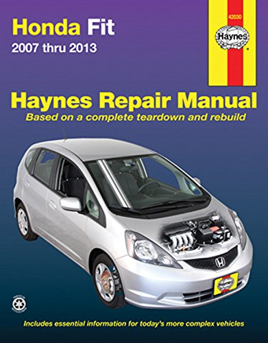 Honda Fit 2007 thru 2013 (Haynes Repair Manual) (Honda Fit Repair Manual compare prices)