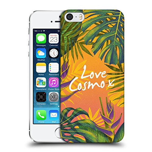 Official Cosmopolitan Bird Of Paradise Tropical Hard Back Case for Apple iPhone 5 / 5s / SE