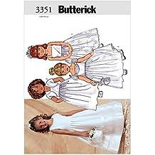 Butterick Patterns B3351 Children's/Girls' Jacket & Dress, Size 2-3-4-5