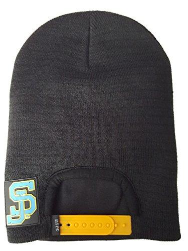 Snap Skull Men's San Jose State Snapback Beanie Spartans OS Black