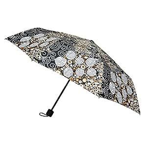 Signare Paraguas Mango de Goma en el diseño Klimt (El beso): Amazon.es: Equipaje