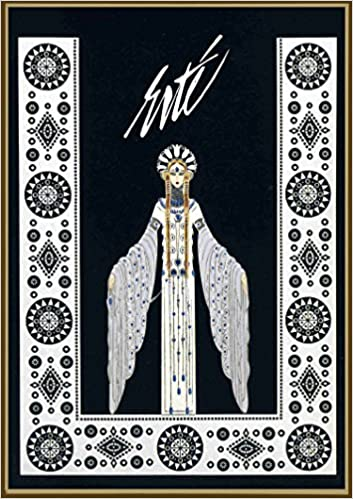 wall calendar 2019 12 pages 8 x11 erte art deco vintage french
