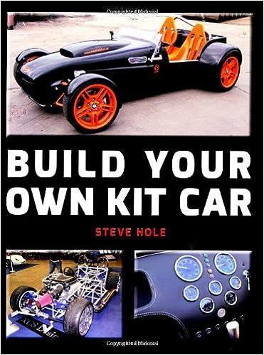Build Your Own Kit Car Steve Hole Amazon Com Books