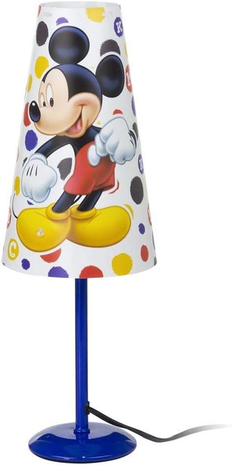 Lámpara de noche de Mickey Mouse, luz de mesa, Mickey Mouse 1285 Dis.2 -