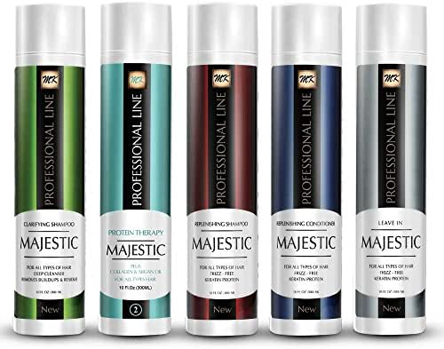 Majestic Hair Protein Therapy 300ml (10oz) - Formaldehyde Free - Complete KIT