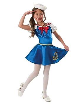 Horror-Shop Traje de Niño de la muchacha del marinero S ...