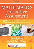 img - for Mathematics Formative Assessment, Volume 2: 50 More Practical Strategies for Linking Assessment, Instruction, and Learning (Corwin Mathematics Series) book / textbook / text book