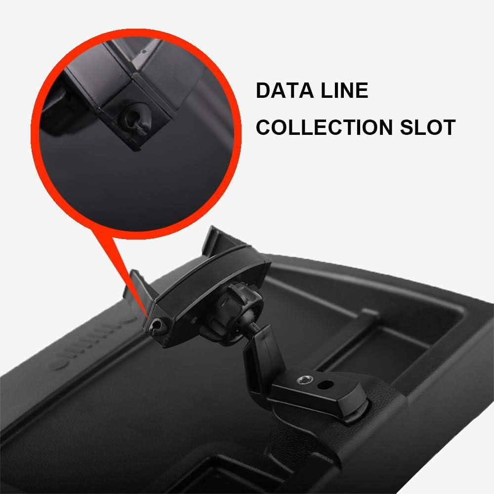 MeterMall Car Phone Holder,Dash Multi-Mount Phone Holder Kit for 2007-2010 Jeep Wrangler JK,Cell Phone Accessories