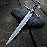 "13.5"" KING ARTHUR MEDIEVAL Historical SHORT SWORD DAGGER Knife Scabbard + SHEATH"