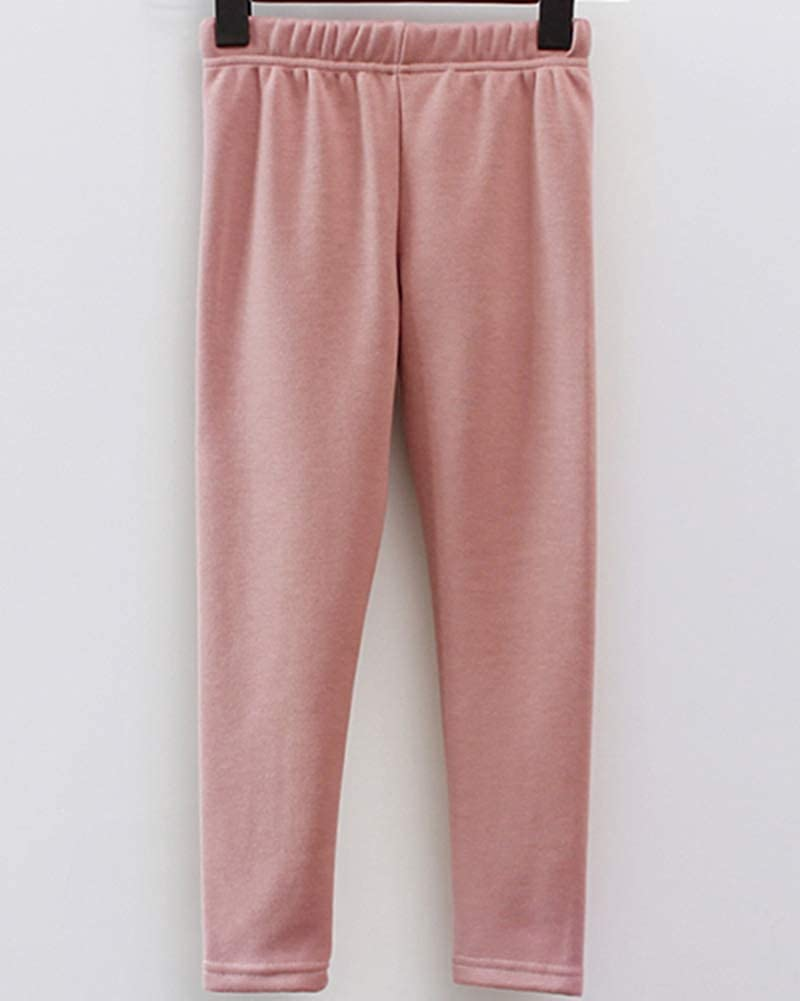 Leggings Ni/ñas Color S/ólido C/álido Pantalones T/érmicas de Invierno
