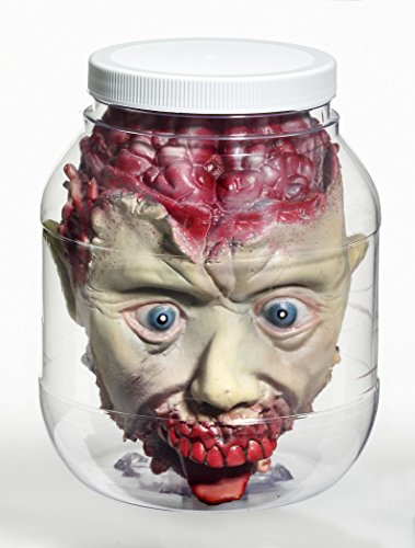 [Laboratory Head in a Jar Prop] (Halloween Props)