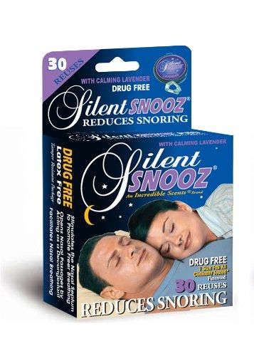 Silencieux Snooz Snore secours - Lavande (30 Reuses)