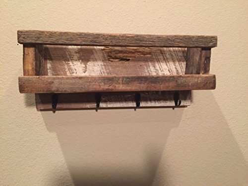 Entry Way Wall Organizer / Mail Holder / Command Center / Ma