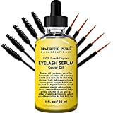 Majestic Pure Castor Oil for Eyelashes Growth Serum