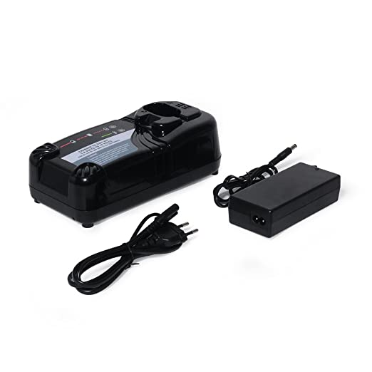 POWERAXIS Cargador de Bateria (7.2V-18V Ni-CD/Ni-MH/Li-ion) para Hitachi UC18YKL UC18YRL Hitachi EB12 EB14 EB18 EB9 C5D B3 BCL1415 BCL1430