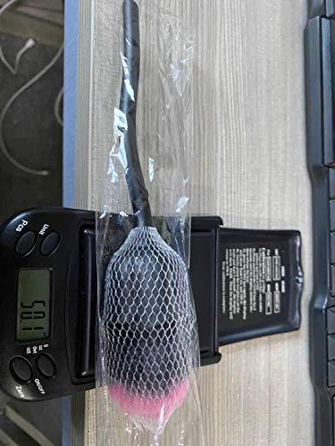 リップブラシ 平筆 リップ筆 スライド式 メイクブラシ リップ用 化粧ブラシ 化粧筆 高級繊維毛