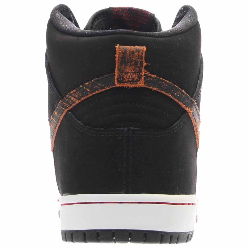 Nike Mens Dunk High Pro SB Distressed Leather Black University Red Leather  Size 8  Buy Online at Low Prices in India - Amazon.in 6679d9cccf