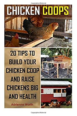Chicken Coops: 20 Tips to Build Your Chicken Coop and Raise Healthy and Strong Chickens: (chicken coop, how to build a chicken coop, raising chickens for dummies)
