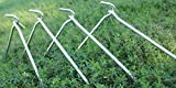 AAGUT 50x Tent Stakes 9 Inch Garden Stakes