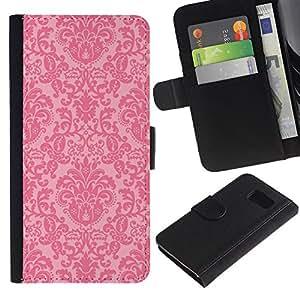 All Phone Most Case / Oferta Especial Cáscara Funda de cuero Monedero Cubierta de proteccion Caso / Wallet Case for Sony Xperia Z3 Compact // fondo de pantalla de color rosa rústico retro vendimia